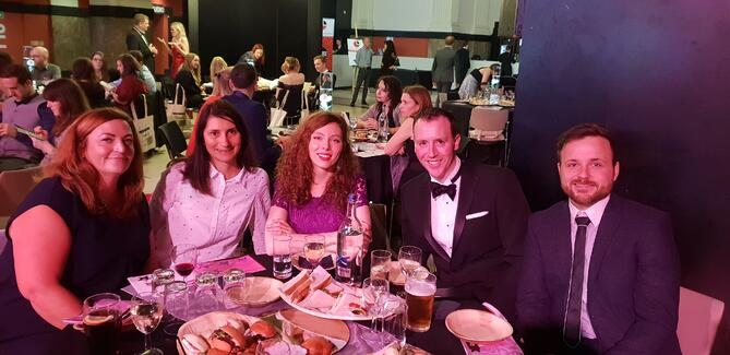 Modality Systems at the DevelopHer Awards 2018