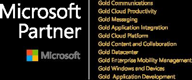 Microsoft Compentency logo white