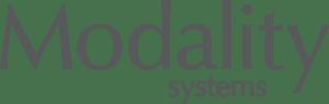 Modality logo grey