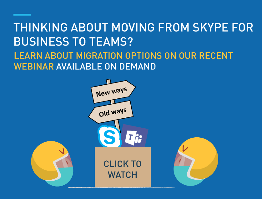 Moving form Skype for Business to Teams